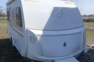 トレーラーKNAUS(クナウス)※ヘッド車のフォードエクスプローラーと同時申し込みしてください。