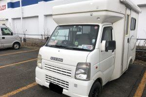 スズキ軽ベース:キャブコンキャンピングカー
