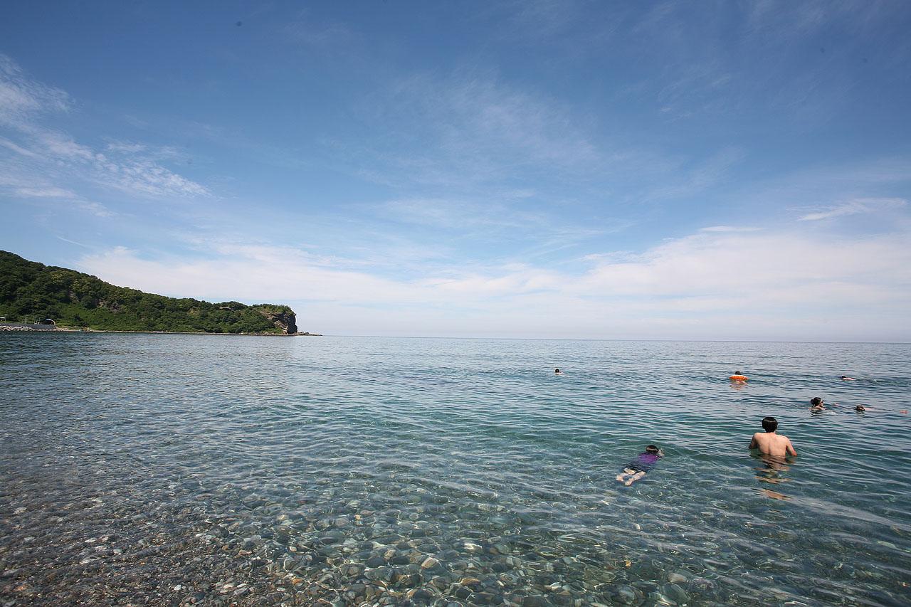 【江ノ島海岸】ちょっとマイナーな道央の青の絶景を楽しむドライブ旅